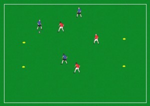 Running with the ball End Training Game