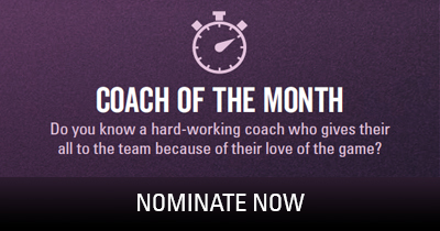 Coach of the Month